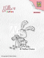 NCCS003 Nellie's Cuties Clear stamps Lars the photographer