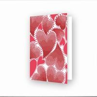 DDG.032 Diamond Dotz® - Greeting Card Hearts Swirl