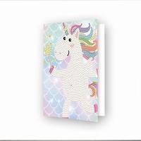 DDG.034 Diamond Dotz® - Greeting Card Unicorn Wish