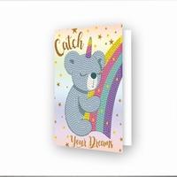 DDG.035 Diamond Dotz® - Greeting Card Catch your Dreams