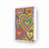 DDG.037 Diamond Dotz® - Greeting Card Heart Mosaic