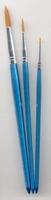 12185-8504 Penselen set nylon 3x rond 3 st