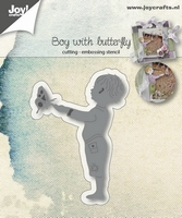 6002/1031 Joy! crafts - Die - Boy with butterfly