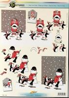 11055-359 Knipvel Sneuwpop