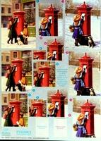 248761 Dufex Freestyle Decoupage Kerst brievenbus