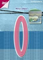 6002/1118 Snijstencils - Mery's Ellips