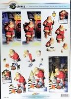 11055-356 Knipvel Kerstman