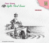 IFS037 Clear stamps Idyllic Florasl Scenes Sea with