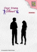 SIL086 Clear stamps Teenagers serie a date
