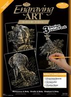 GOLF-SET3 3 PC GOLD ENGRAVING ART SET