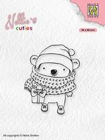 NCCS012 Christmas Cuties Koala with parcel