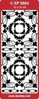 XP6804HB Stickers Div.Ornamenten -  Hol.Blauw