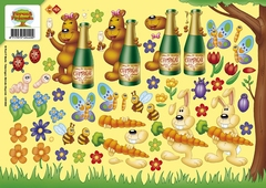 CD10023 Carddeco Forest Friends