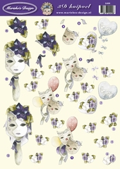 VB2409 Marieke Bloemenmaskers