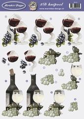 VB2515 Marieke Druiven/Wijnfles
