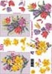4169228 LeSuh 3D Voorjaarsbloemen