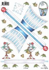 KT002 Tasjes Kerstsfeer  Klik op het plaatje en zie voorbee