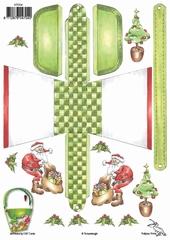 KT004 Tasjes Kerstsfeer  Klik op het plaatje en zie voorbee