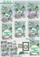 630028 Le Suh Pyramids Kerst Vogels