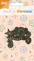 60011037 Chrissie Borduurstencil Joy Crafts