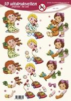 PO2661 Push Out Kinderen Diversen