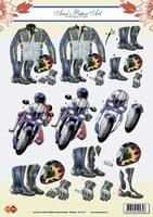 CD10113 Carddeco Anne Motorrijder