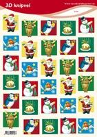 VB2134 Diverse Kerstplaatjes