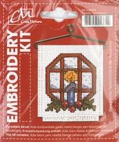 BK438899 Borduurpakket Kerst KAARS