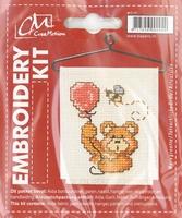 BK339199 Borduurpakket Beertje ballon