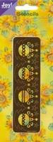 60010071 Joy stencil  Embossen en borduren