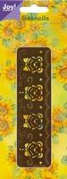 60010069 Joy stencil  Embossen en borduren