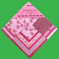 Handmade Paper Pink