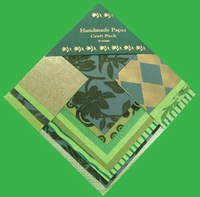 Handmade Paper Green