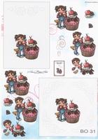 BO31 Meisje/Cupcake
