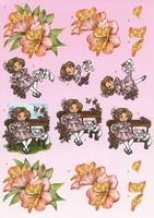 BO64 Bloemen/meisje