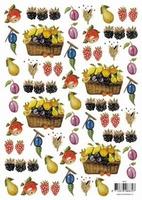 8835T36 Knipvel Fruit + Vellum