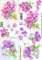 4169448 LeSuh 3D Flowers