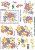 4169492 LeSuh 3D Bloemen