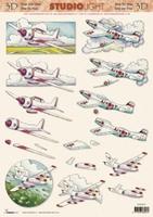 STSL837 Studio Light Vliegtuigjes