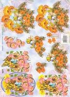 TBZ574601 Embossed Bloemenelfje