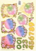 TBZ574167 Embossed Bloemen
