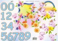 TBZ574165 Embossed Bloemen