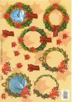 TBZ572072 Embossed Kerst