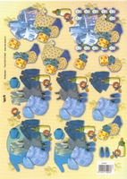 TBZ504907 Embossed Babykleren