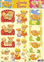 STAPLB04 Lovely Bears Studio Light