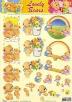 STAPLB02 Lovely Bears Studio Light