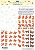JS0304 Bloemen/Vlinders