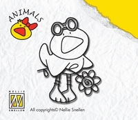 ANI001 Nellie Snellen Stempel Duck Boy