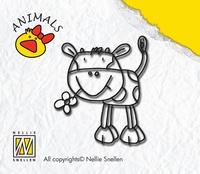 ANI004 Nellie Snellen Stempel Cow Boy