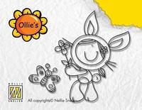 OL014 Nellie Snellen Stempel Bunny Girl